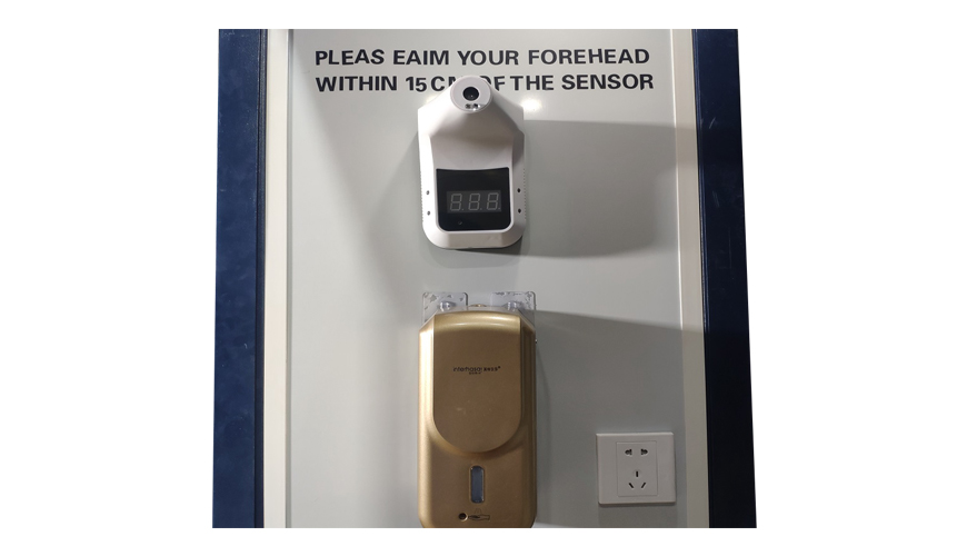 Intelligent Body Temperature Measurement Door Thermal Body Heat Sensor Disinfection Channel