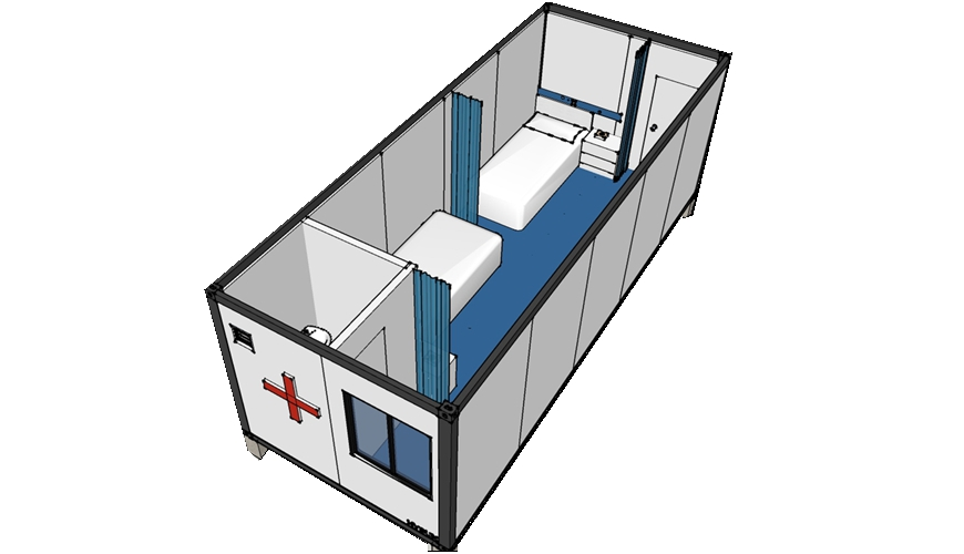 Hysun Modern Container Hospital