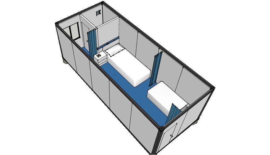 Hysun Modern Container Hospital