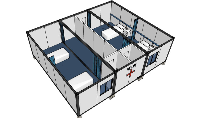 Hysun Clinic Container House