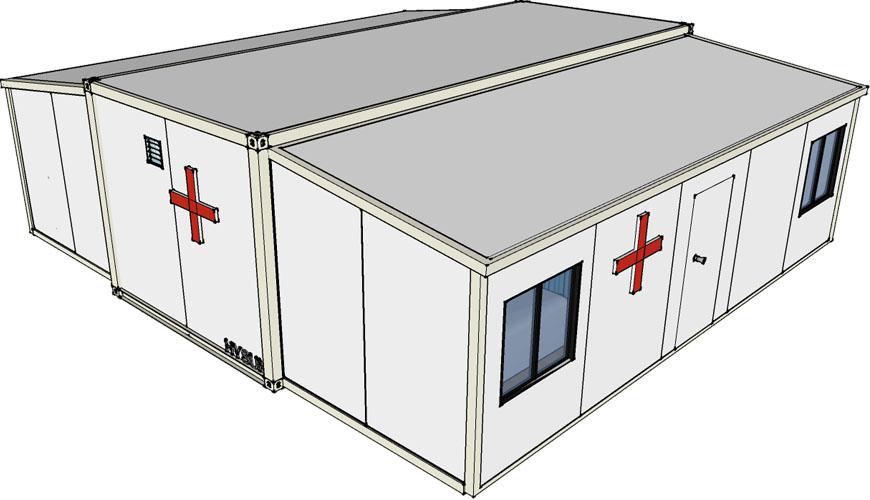 HY-E Hysun Mobile Modular Expandable Portable Medical Hospital