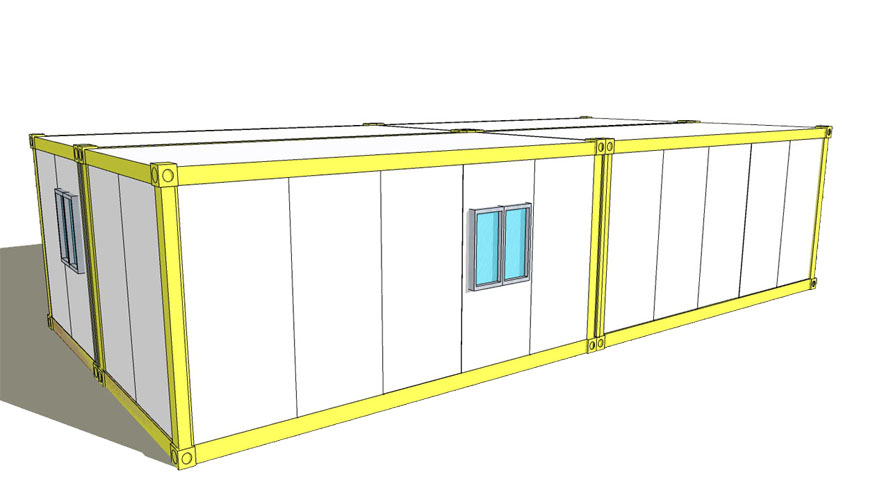 Hysun New Design Flat Pack Container House Modular Prefabricated SteelContainer Home