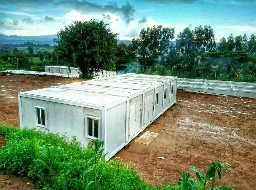 Kenya: Modular Flat Pack UN Camp Container