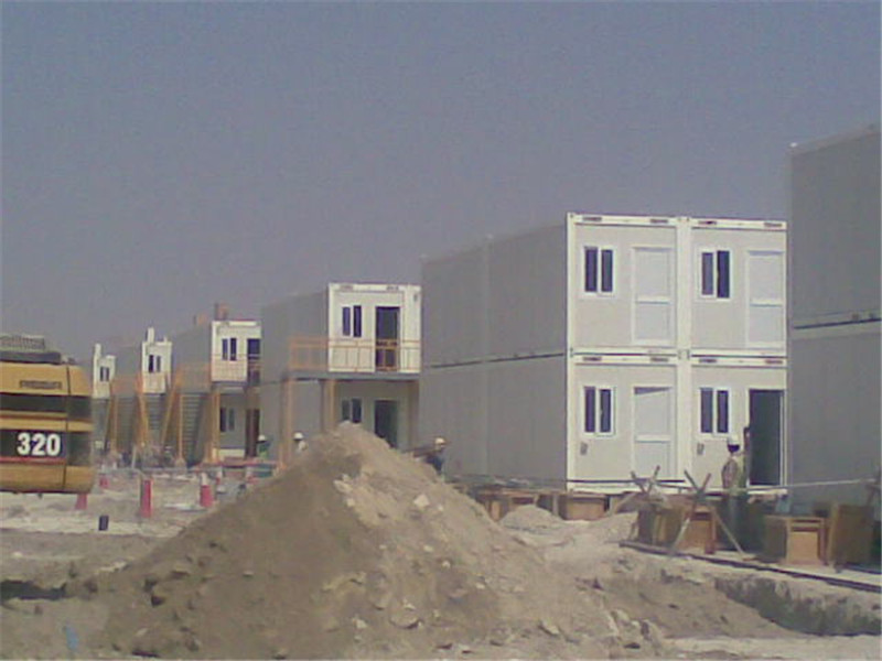 Qatar: Prefabricated Flat Pack Container Natural Gas Camp