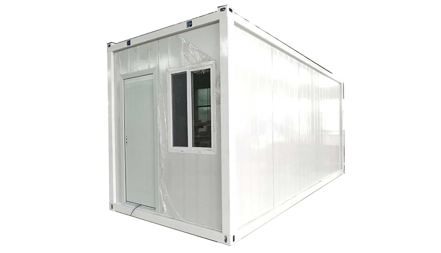 B-001 HYSUN Factory Direct Sales Prefab Movable Container House 20ft Flat Pack Container Home Office with High Quality