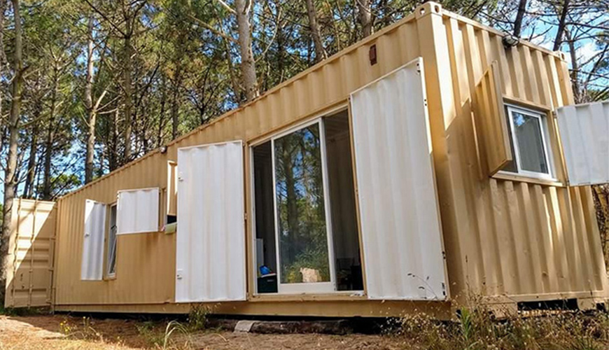 HY-M080 Hysun 20ft, 40ft Standard Shipping Modified Container Living House the Best 40ft High Cube Container House for Sale