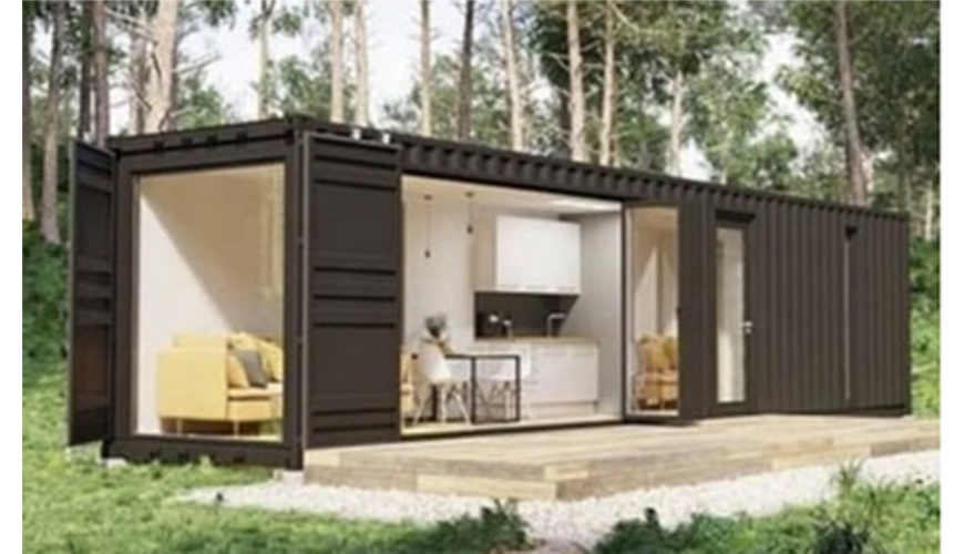 HY-M802 Hysun Movable Portable Prefabricated Customized Design Modified 20FT 40FT Shipping Container Living House Hotel Villa Home