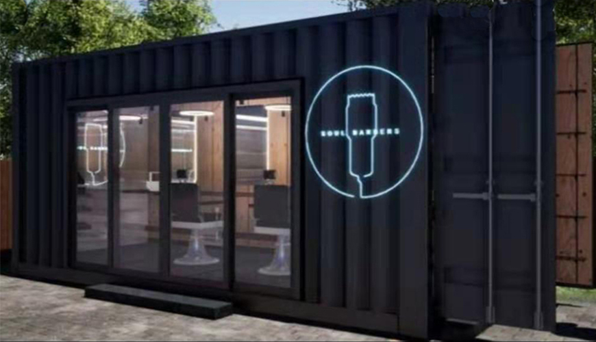 HY-M808 Hysun Professional Design Modern Design Modified Container Modular Building Modified Container Hair Salon House