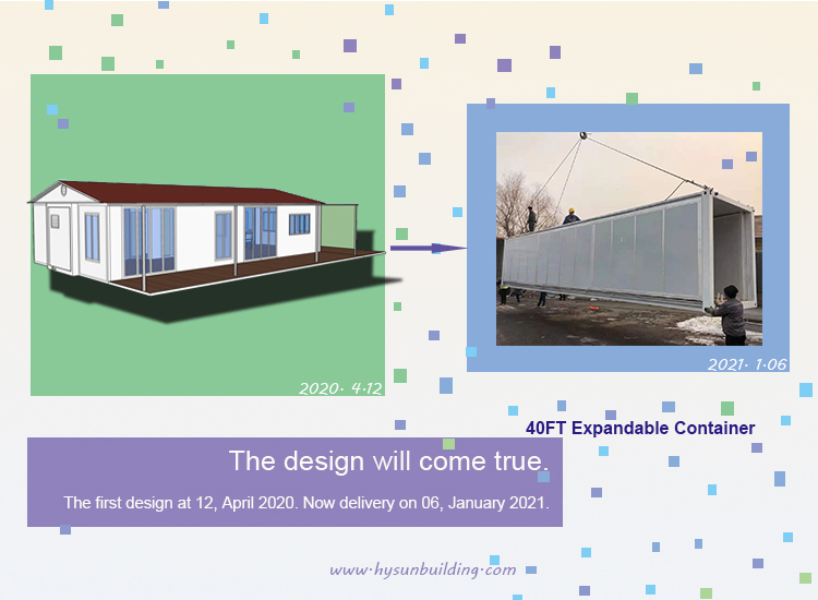Hysun Expandable Container House