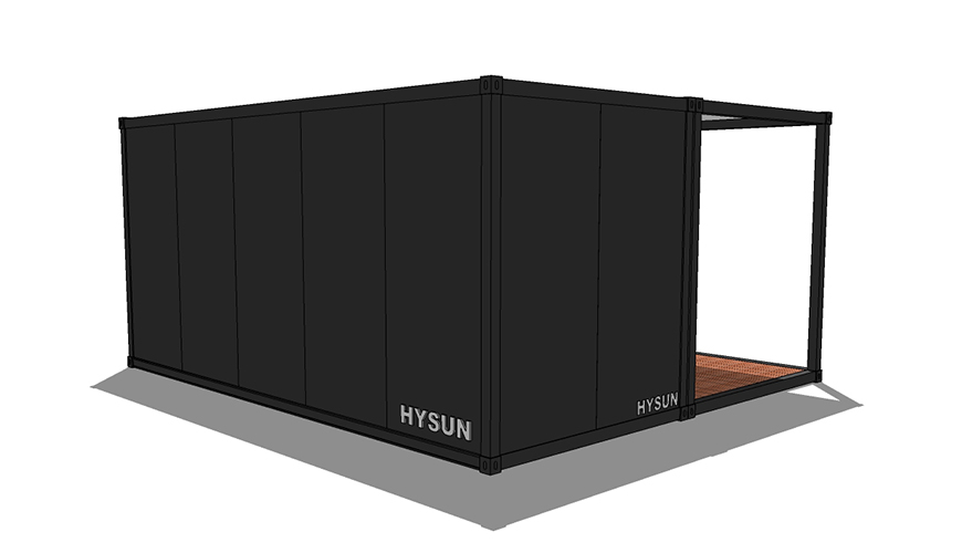 HY-A248 Hysun China mobile flat-pack new design container home luxury flat pack container living house hotel storage for sale