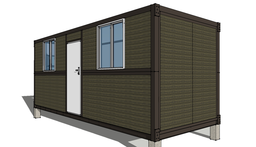HY-F014 HYSUN custom portable mobile modular expandable folding container house prefabricated movable folding container house