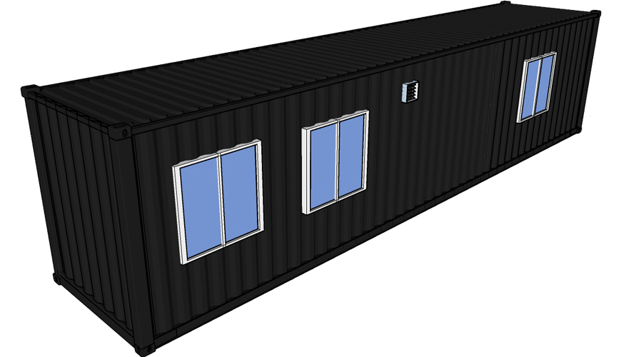 HY-M301 Hysun 20ft 40ft Standard Shipping Modified Container Living House Portable Storage Containers Modified container home