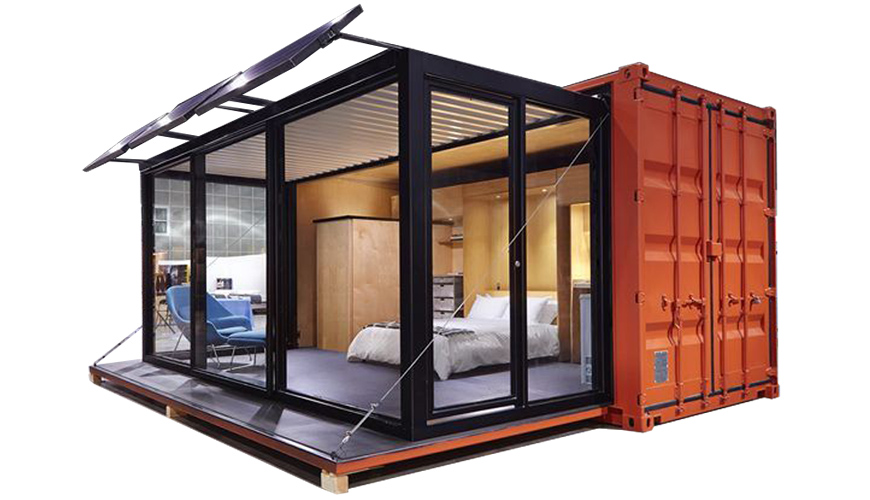 HY-Y880 HYSUN new design 20HQ pod-out modified shipping container coffee shop portable mobile prefab glass steel structure cafe bar