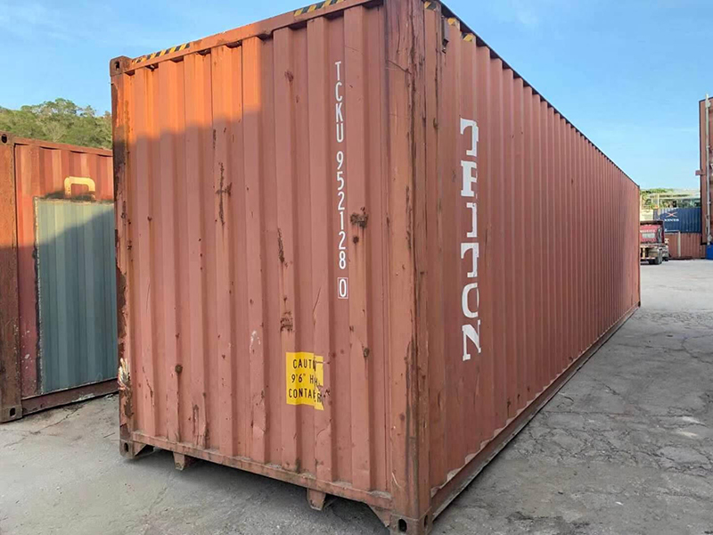 Sales information: Hysun sold 2 used 40hq containers to Australia