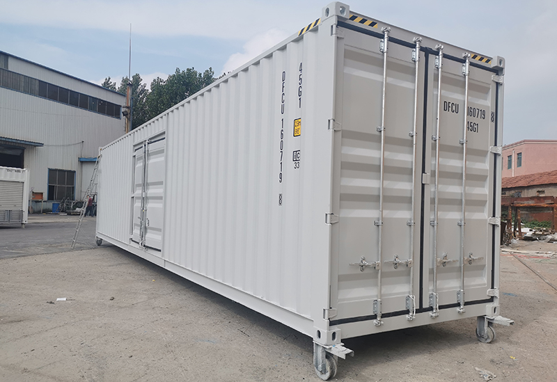 Sales information: Hysun sold an ISO 40′ Maritime Container to Australia