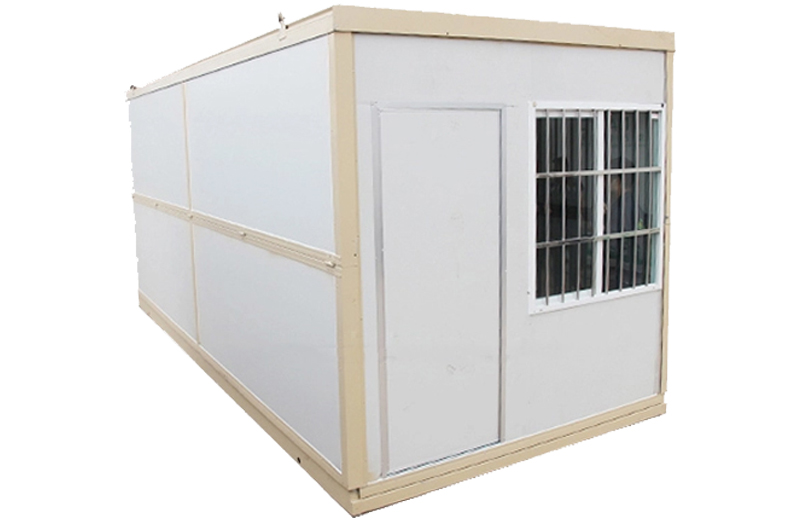 Sales information: Hysun sold 2 Folding container houses to Japan