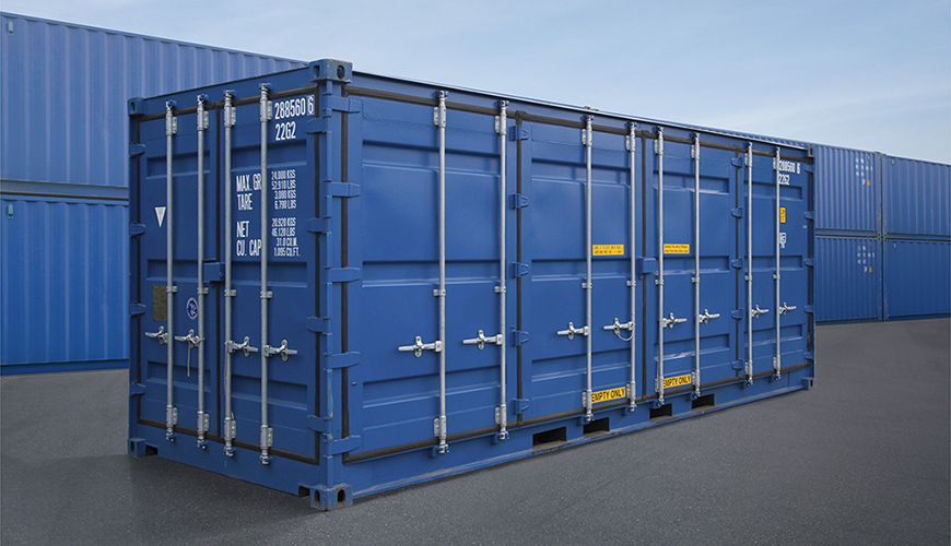 Hysun 20GP open side container 20 foot side opening dry freight shipping container